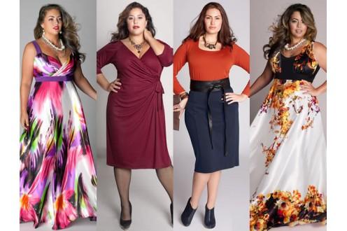 Модный гардероб для полной женщины