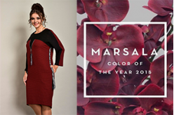 Марсала, бордо или винный для осени 2018
